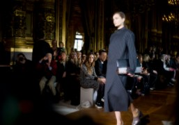 A look from the Stella McCartney F/W 2013 show at the Opéra...