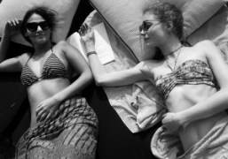 Sabine Heller and Jessica Joffe at the Ritz-Carlton, Palm Beach. Photo Rachel…