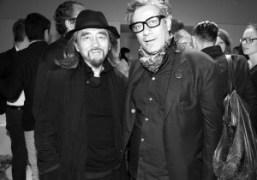 Japonese cult designer Yohji Yamamoto and French art director Marc Ascoli (who…