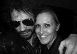 Olivier Zahm and Valerie Hermann at the Yves Saint Laurent men's Fall/Winter…