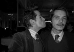 Two men in love: Vincent Darré and Elie Top, La Fidelité, Paris