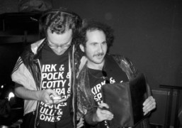Todd Selby and The Cobrasnake DJing at Le Baron at the afterparty…