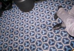 The 70's David Hicks carpet that Vincent Darré found for Le Montana,…