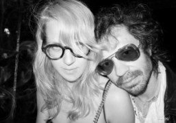 Aurel Schmidt and Olivier Zahm at the Bowery Hotel, New York. Photo…