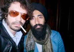 Olivier Zahm and Waris Ahluwalia at the Bowery Hotel, New York. Photo…
