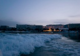 Leaving the Martinez Hotel at 6:00A.M., Cannes. Photo Olivier Zahm