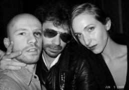 Magnus Unnar, Olivier Zahm and Mitra Farahmand at Avenue, New York. Photo…
