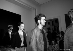 My favorite leather jacket at the Yves Saint Laurent Men's Spring/Summer 2010…
