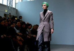 One look from the Junya Watanabe F/W 2012 Show, Paris.