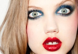 Our favorite Purple model Lindsey Wixson. Photo by Terry Richardson