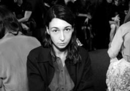 Camille Bidault Waddington at the Vêtements S/S 2015 show at Espace Pierre…