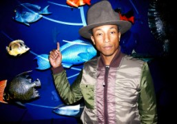 Pharrell Williamsat the G Star Raw for the Oceans presentation at TheAmerican…