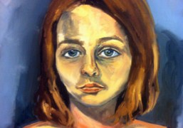 A painting from Jemima Kirke's new Hearsayshow, on view through October 24th…