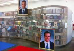 Jonathan Horowitz's installation Your land/My land: Election'12 on view through November 18that…