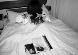 Freja, Terry and a NY doll, Standard Hotel, New York. Photo Olivier…