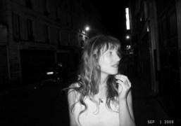 Josephine de la Baume at La Fidelite, Paris. Photo Olivier Zahm