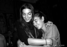 Allegria Torassa and Natacha Ramsay at Le Mathis for Omar's birthday, Paris….