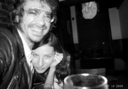 Me and Susanne Deeken at Aleksandra Woroniecka's birthday party at Omen, New…