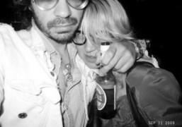 Aurel Schmidt and me at the Jane Hotel, New York. Photo Olivier…