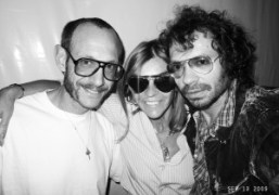 Terry Richardson, Carine Roitfeld and me at the Purple dinner with Audemars…