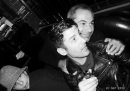 André and Jean-Yves Le Fur at Le Montana, Paris. Photo Olivier Zahm