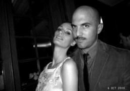 Lauren Santo Domingo and Justinian Kfoury at the Giambattista Valli dinner at…