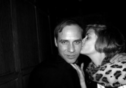 Paul Sevigny and Sophie Aschauer at Avenue, New York. Photo Olivier Zahm