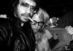 Me and Aurel Schmidt at Avenue, New York. Photo Olivier Zahm