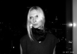Christina Kruse at The Boom Boom Room, New York. Photo Olivier Zahm