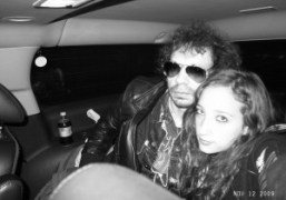 Last picture of Vanna Youngstein in a taxi, New York. Photo Olivier…