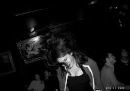 Olympia Le-Tan dancing, Chez Moune, Paris. Photo Olivier Zahm