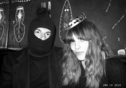 Jean-Yves Le Fur and Lou Doillon at Le Montana, Paris. Photo Olivier…