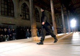 The Kris Van Assche F/W 2010 Men's show, Couvent des Cordeliers, Paris….