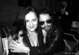Angela Missoni and Olivier Zahm at Philippe Starck's birthday at Kong, Paris….
