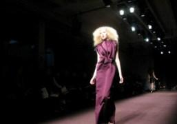 One look from the Roksanda Ilincic F/W 2010 show, London. Photo Caroline…