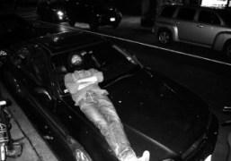 Waris Ahluwalia in front of Omen, New York. Photo Olivier Zahm