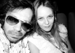 The French actress and Chanel muse Vanessa Paradis and me at the…