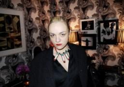 Turkish jewelery designer Yaz Bukey at Zac Posen and Christopher Niquet's newly…