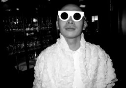 Terence Koh at Balthazar to celebrate the opening of Dan Colen's show…
