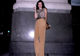 Suzanne Deeken after the Marc Jacobs S/S 2011 show, New York. Photo…