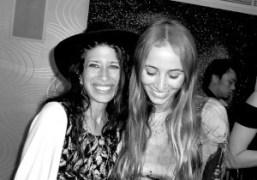 Pamela Love and Harley Viera Newton at the Emilio de la Morena…
