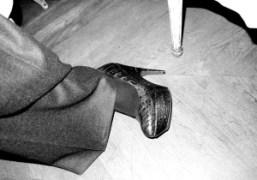 Yves Saint Laurent heels, New York. Photo Olivier Zahm