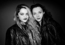 The singer Sky Ferreira and Purple stylist Masha Orlov at Calvin Klein…