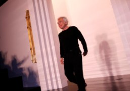 Ralph Lauren at the end of his F/W 2011 show, New York….