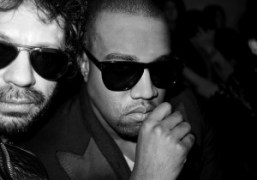 Olivier Zahm and Kanye West at the Comme des Garcons F/W 2011…