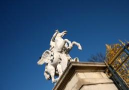 A sculpture in the Jardin des Tuileries, Paris. Photo Olivier Zahm