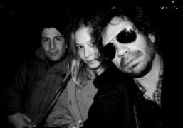Andre Saraiva, Annabelle Dexter-Jones, and Olivier Zahm at Le Bain, Standard Hotel,…