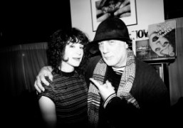Lail Arad with her father industrial designer, artist, and architect Ron Arad...