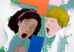 """Mike Kelley """"Shaped Paintings"""" exhibition at Skarstedt, New York"""