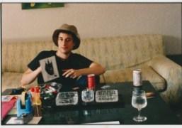 American film director and screenwriter Harmony Korine in 1998, Tokyo